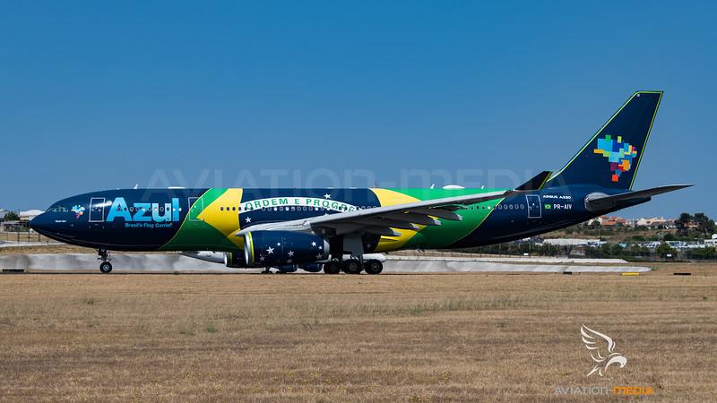 Azul / Airbus A330-243 / PR-AIV / Brazilian Flag Livery