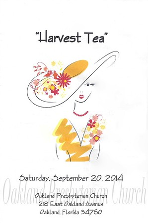 Women Tea 2014 Harvest Tea