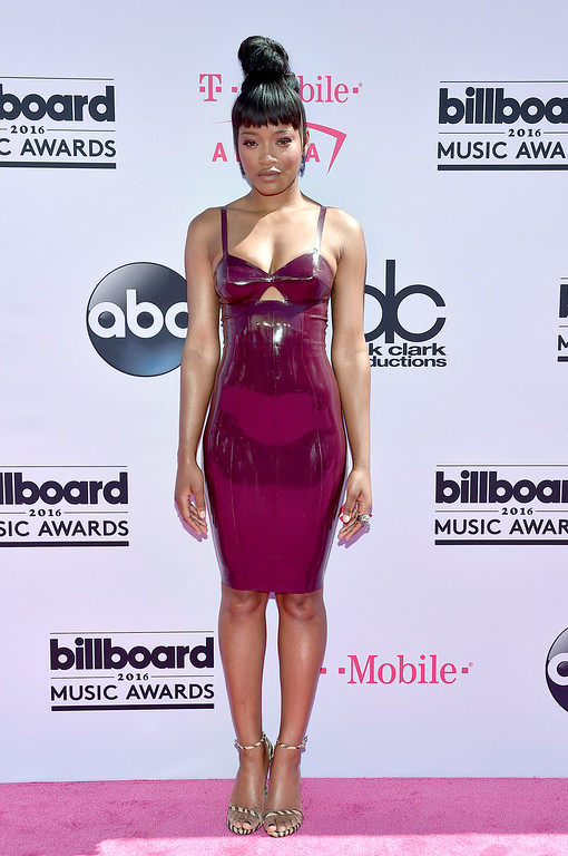 . LAS VEGAS, NV - MAY 22:  Actress/singer Keke Palmer attends the 2016 Billboard Music Awards at T-Mobile Arena on May 22, 2016 in Las Vegas, Nevada.  (Photo by David Becker/Getty Images)