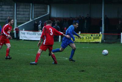Johnstone Burgh 0 Dundonald Bluebell 2, Emirates Junior Cup Round 4, 9th February 2013
