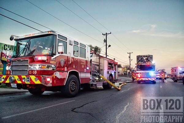 Commercial Building Fire - 1300blk Culebra, San Antonio, TX - 10/2/18