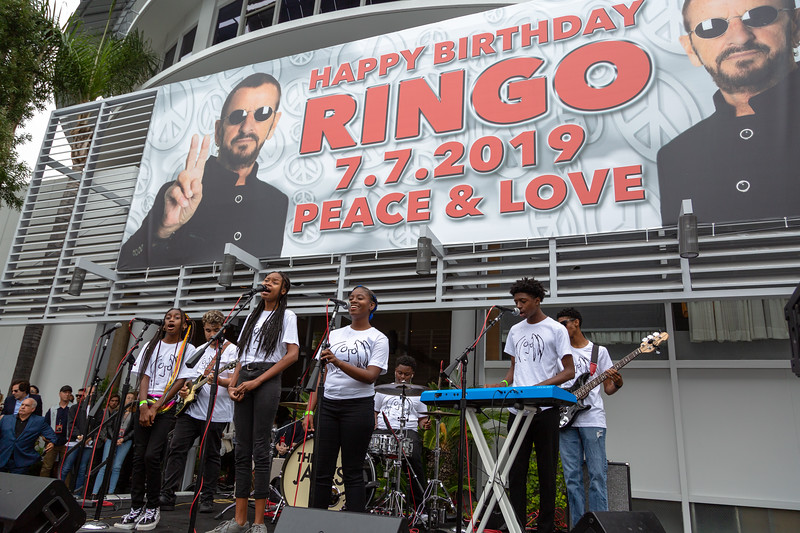 2019_07_07, Birthday, CA, Capitol Records, Los Angeles, Ringo