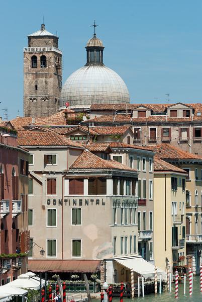 Palazzo Labia tower and Chiesa di S. Geremia