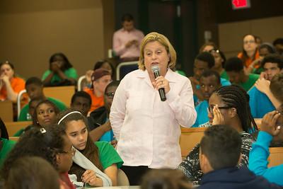 Ileana Ros-Lehtinen Speaks to Students - July 7, 2014