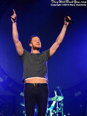 Imagine Dragons <br> March 6, 2014 <br> DCU Center - Worcester, MA <br> Photos by: Mary Ouellette