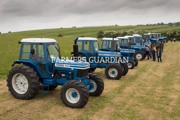 Cheffins Ford tractor sale May 2018