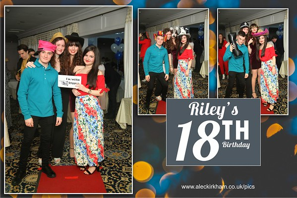 Mirror Booth Hire - Riley's 18th Birthday