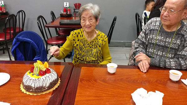 Mom & Virginia's Birthday celebration - 5/26/17