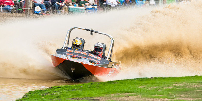 Sprint Boat Races in Port Angeles put on by USSBA