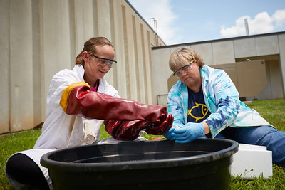 2018 UWL Marsh Oil Spill Research Bonnie Bratina Anna Hilger