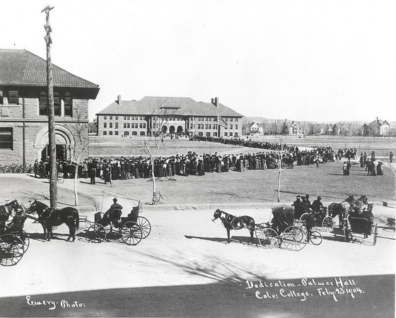 Palmer Hall Dedication, February 23, 1904