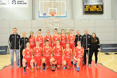 Basketball England Womens National Cup Final 2016