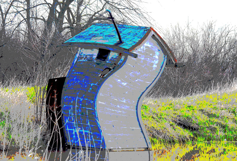 Dr Seuss' Outhouse