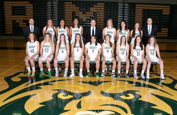 Women's Basketball 2015-16 Team Photos