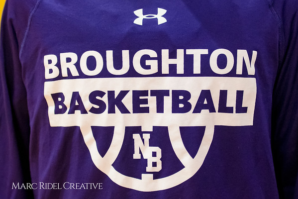 Broughton JV boy's basketball vs Leesville. January 29, 2018.