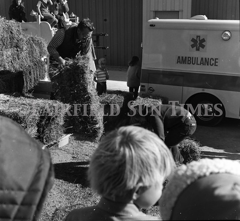 Undated (70s?) Hay Stacking in Fairfield Montana