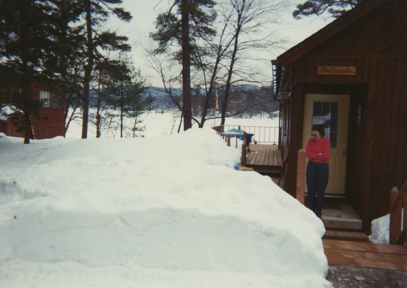 Mary Lou on Glen Lake
