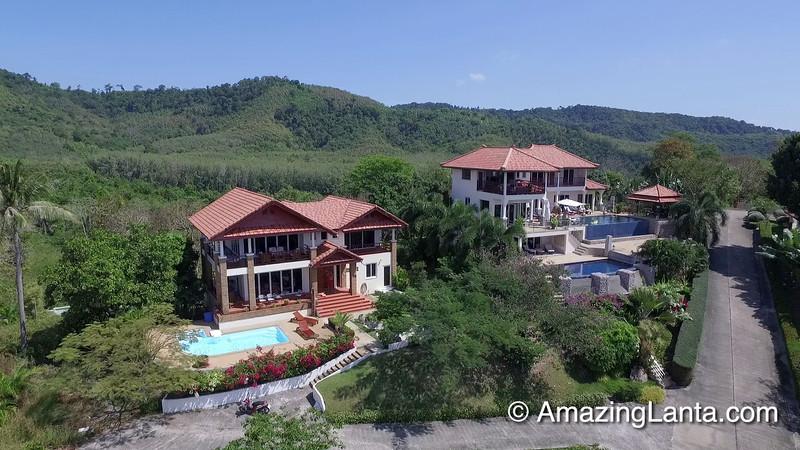 Villa Issara Aerial View