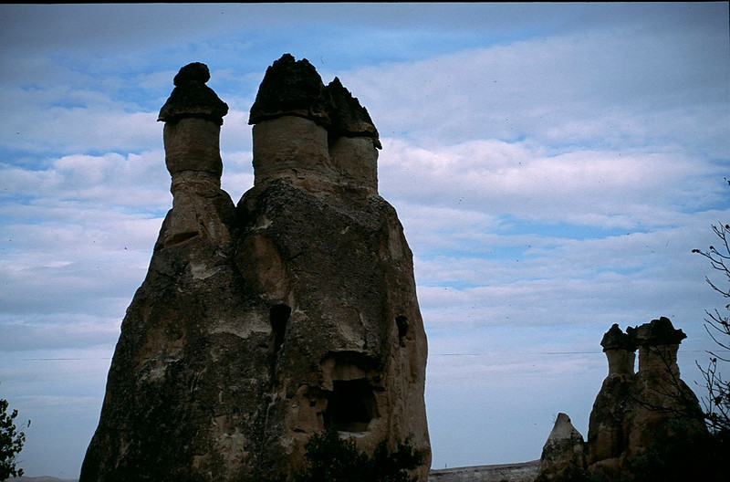 natural formations from volcanos, water and wind