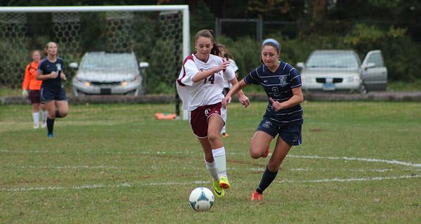 JV Girls Soccer vs Immaculate - 10/10/2013
