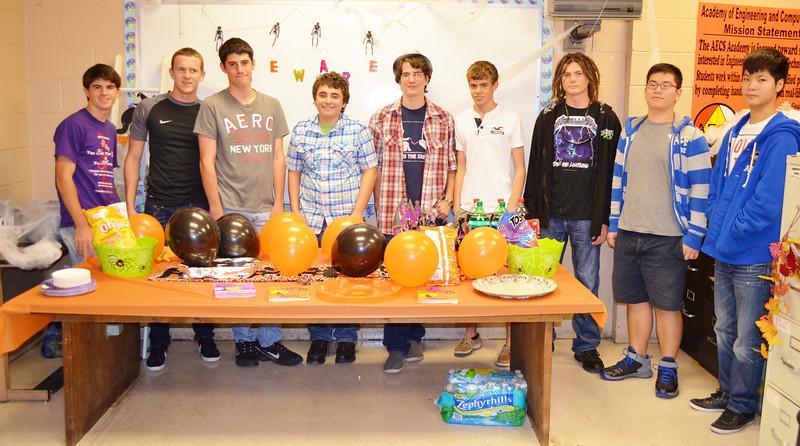 Academy (AECS) Student Advisory Board Halloween Party