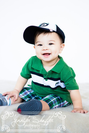 Zachary 9 Month Session Highlights
