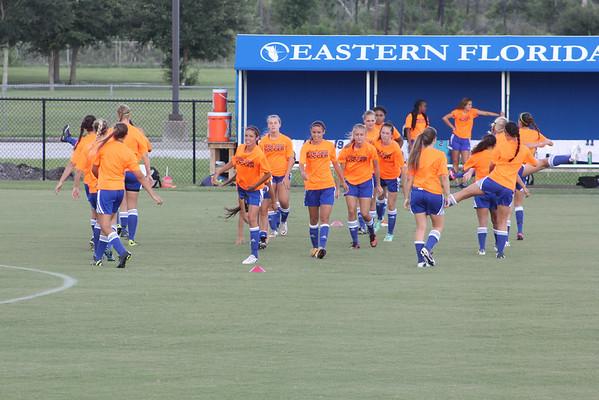 EFSU womens soccer vs Jamaica