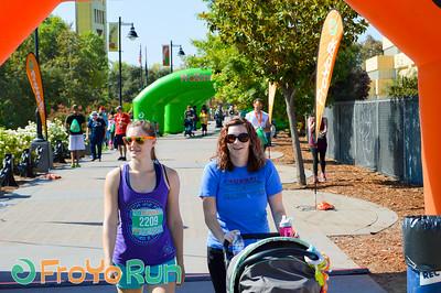 Finish Line: FroYo Run - Sacramento