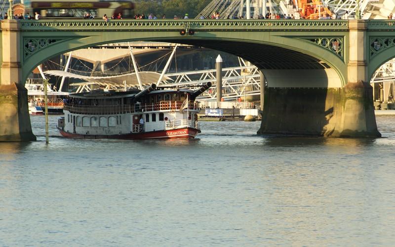 Boat, Transportation, Street scene, London, England, Thames, River