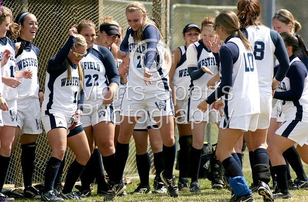 WSU vs. Bridgewater State (H) Game One 04/09/11 W 5-2