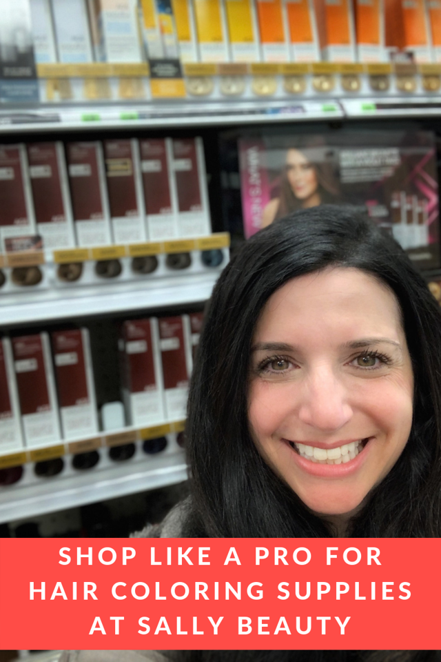AD I used to be afraid to color my hair until I saw how easy it was with AGEbeautiful from Sally Beauty. See how to shop for hair color supplies like a pro!