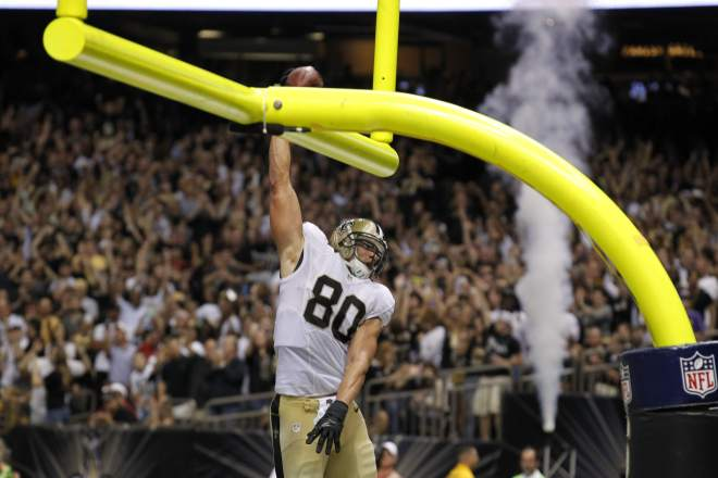 ". <p><b>NEW ORLEANS SAINTS</b> </p><p><i>�Drunk on Dunks��</i> </p><p>There once was a lad, name of Jimmy </p><p>For whom goalpost spikes were a gimme </p><p>But when the upright sags </p><p>And the officials throw flags </p><p>The tight end looks more like a ninny <br></p><p>PREDICTION: <b>13-3 � First place in NFC South </b> </p><p><b><a href=""http://www.cbssports.com/nfl/eye-on-football/24680625/jimmy-graham-on-30k-fine-for-dunking-you-cant-really-have-fun-anymore\"" target=\""_blank\""> LINK </a></b> </p><p>   (Associated Press)</p>"