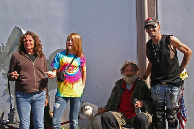 Homeless outreach - April 2010
