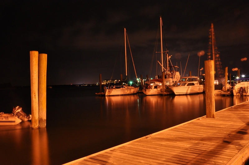 Beaufort Marina. Nice peaceful evening.