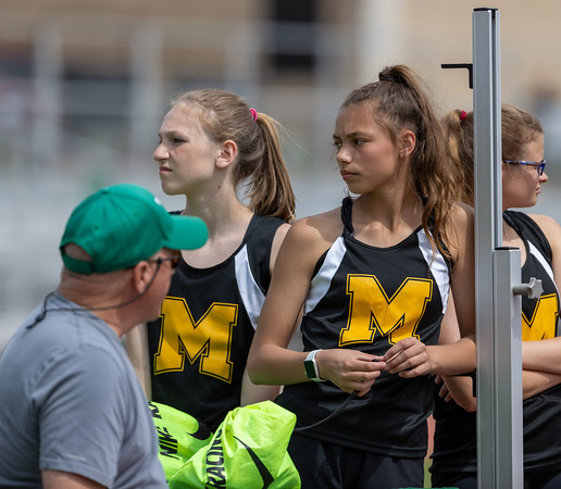 Middle School ESD Track in Pierre - May 14 2021