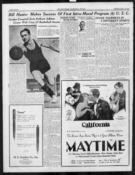 The Southern California Trojan, Vol. 15, No. 89, May 23, 1924