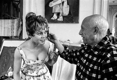 Bardot og Picasso