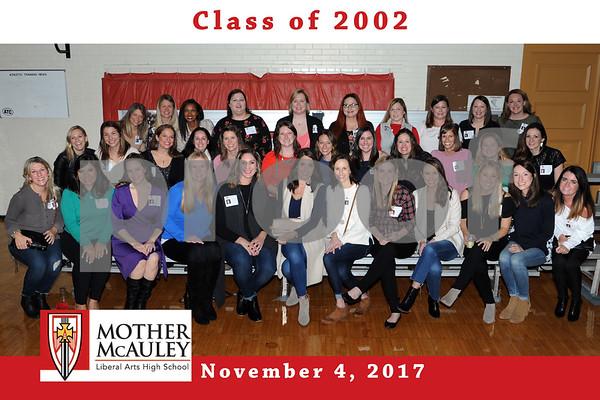 Mother McAuley Reunion 4Nov2017