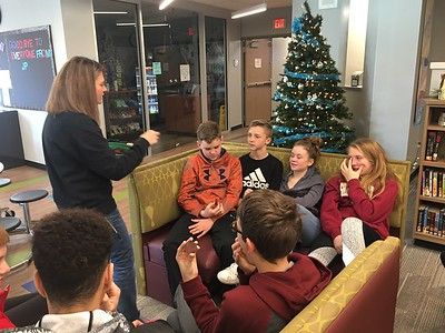Holiday Story with Mrs. McCanles
