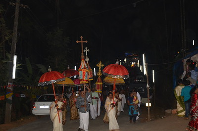 St Johns Festival Processions - Grotto to Church