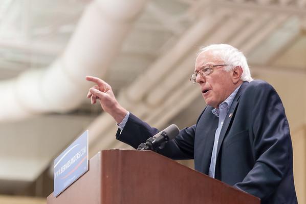 Bernie Sanders Rally in Charleston
