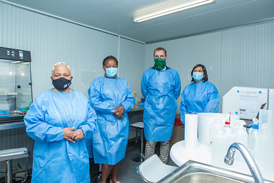 PCR Testing Facility Walk-through