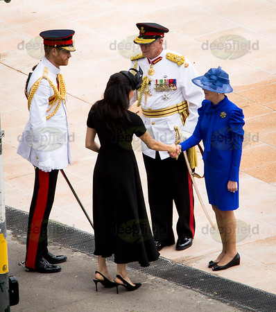 Anzac Memorial - Prince Harry and Meghan 201018