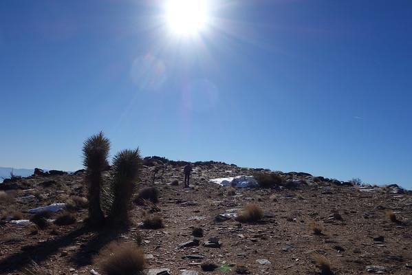 Quail Mountain (5,813) - Jan 2, 2015
