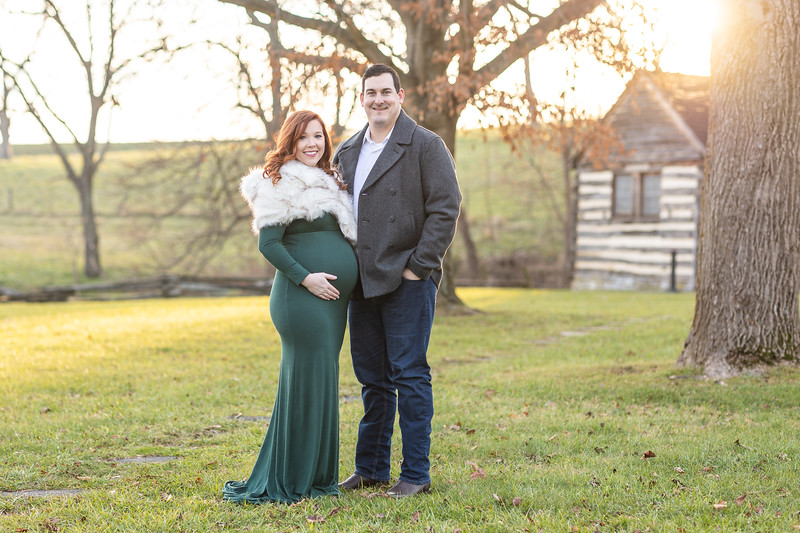 Miranda & Ryan | Maternity Session at McCormick Farm in Raphine, VA