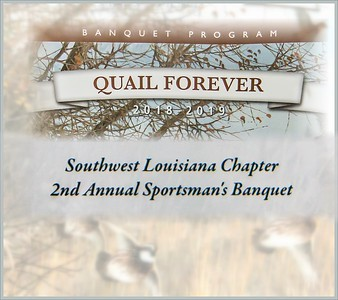 Quail Forever Banquet - 2018 Southwest LA Chapter (Lake Charles)