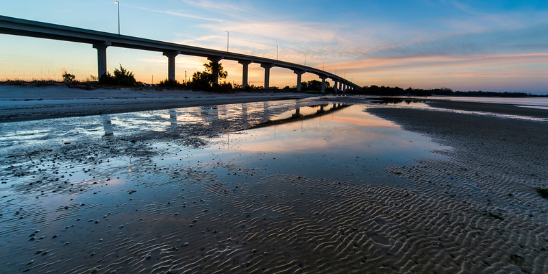Bridge over Beach, Port St Joe, Florida