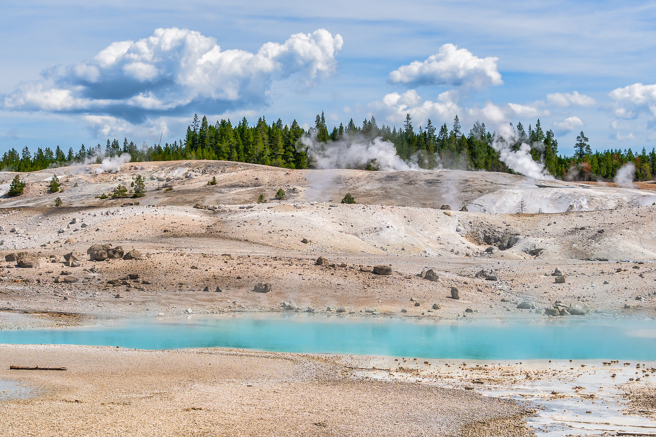 Midway Geyser Basin Yellowstone National Park Wyoming