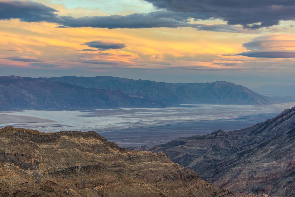 Aguereberry Point, Death Valley National Park, California