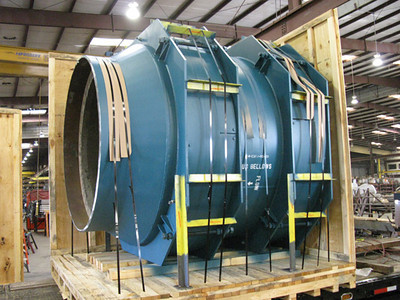 Universal expansion joint for an oil refinery in India